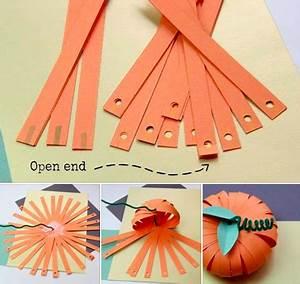 Comment Faire Une Citrouille Pour Halloween : fabriquer une citrouille en papier des id es ~ Voncanada.com Idées de Décoration