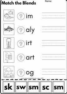 Blend Reading Worksheet