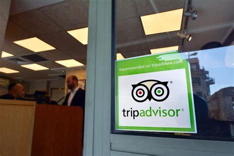reviewed  tripadvisor sticker