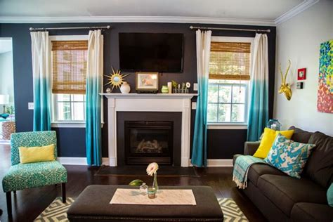 Turquoise And White Living Room : 10 Ideas For How To Decorate Your Living Room With