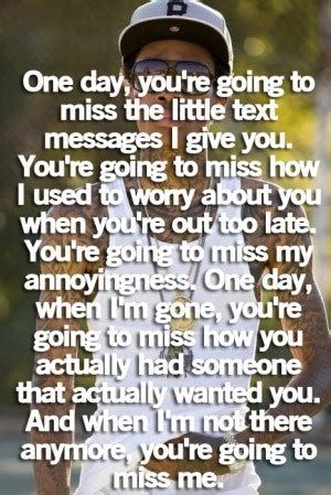 Funny Youll Miss Me Quotes