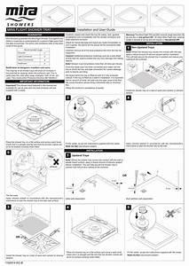 Installation And User Guide Mira Flight Shower Tray