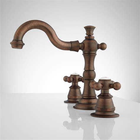 roseanna widespread bathroom faucet metal cross handles