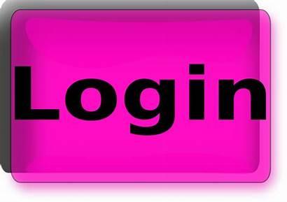 Login Button Clip Background Transparent Clker Clipart