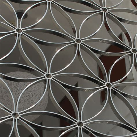decoupe laser tole decorative decorative panels screens architectural grille