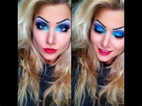 ursula inspired makeup tutorial youtube