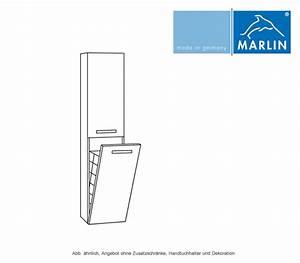 Schrank Mit Wäschekippe : marlin scala hochschrank mit w schekippe 40 cm impulsbad ~ Orissabook.com Haus und Dekorationen