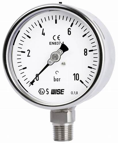 Gauge Pressure Wise P252 Euro Industrial Intended