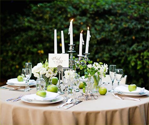 twilight inspired wedding part  tablescape hostess