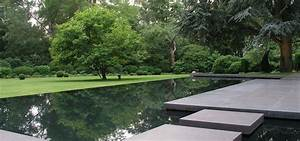 Spiegel Im Garten : jensen landschaftsarchitekten minimalistischer garten mit beruhigenden formen ~ Frokenaadalensverden.com Haus und Dekorationen