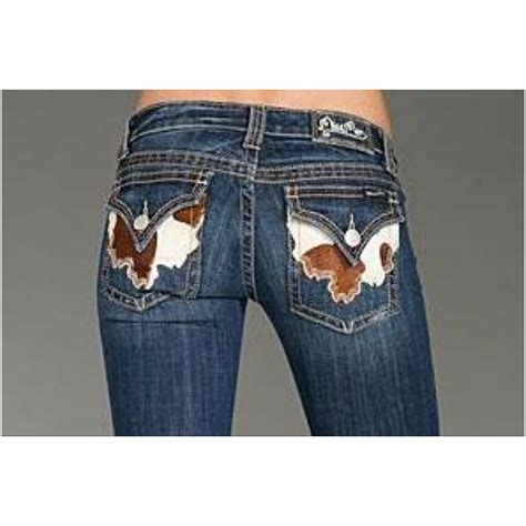 Miss Me Cowhide by Miss Me Cowhide Pocket Adorable All About My