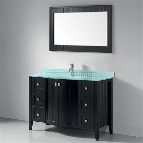 Bridgeport 48 inch Contemporary Bathroom Vanity Mint Green