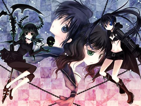 Black Rock Shooter Anime Wallpaper - black rock shooter anime anime dead master