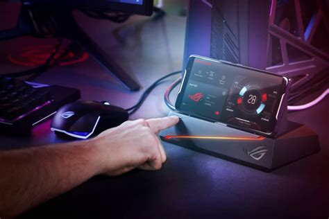 asus rog phone announced  overclocked snapdragon