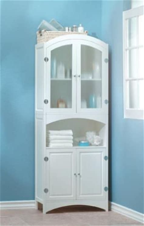 free standing linen closet for the home
