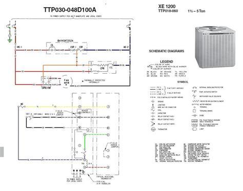 find   trane package unit wiring diagram sample