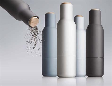 Menu Salz- Und Pfeffermühle Bottle Grinder 2er Set Blau