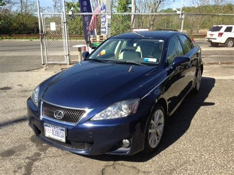 lexus is blue jthcf5c21c5055147 lexus is250 awd navy blue sedan four