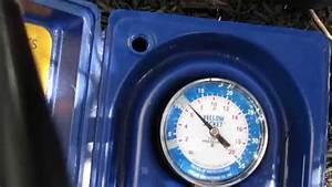 22kw Generac Generator Water Column Gas Pressure Test