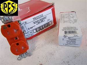 New Pass And Seymour Legrand Trig5362 20a Duplex Iso