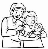 Parents Parent Clipart Child Coloring Pages Clip Drawing Cliparts Baby Born Getcolorings Printable Quotes Library Getdrawings Clipground sketch template