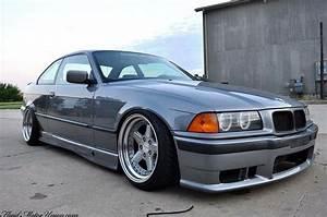 BMW E36 3 series grey deep dish slammed BMW - Ultimate