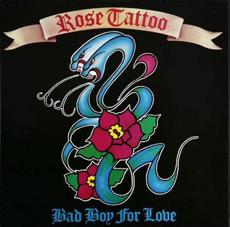 rose tattoo bad boy  love vinyl   rpm single