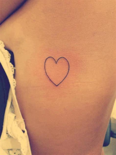 Un Tatouage De Coeur 17 Inkage
