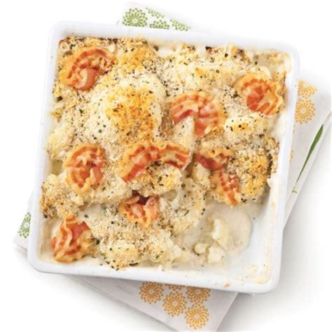 cuisine chou fleur gratin de chou fleur et pancetta recettes cuisine et