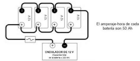 44 cableado de bater 237 as de 12 v en conexi 243 n paralelo hacia el inversor scientific