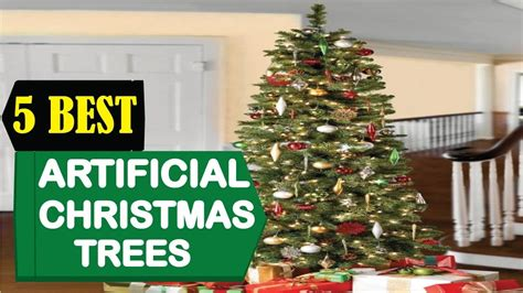 5 Best Artificial Christmas Trees 2018  Best Christmas Trees Reviews  Top 5 Artificial Trees