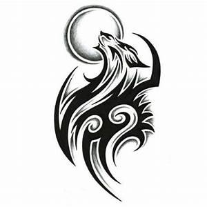 Tribal Wolf Tattoo : 49 latest wolf tattoo designs and ideas ~ Frokenaadalensverden.com Haus und Dekorationen