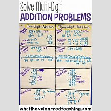 Ways To Solve Multidigit Addition Problems