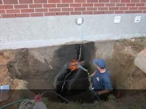 Reparation Fissure Facade Maison : excavation jf caron inc drainage qu bec excavation ~ Premium-room.com Idées de Décoration