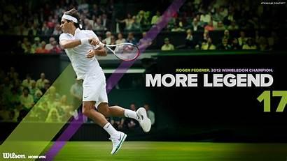 Federer Wimbledon Roger Tennis Wallpapers Backgrounds Wilson