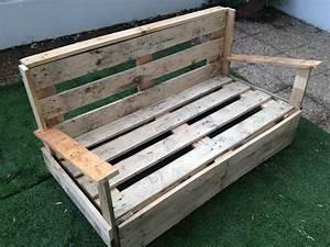 Fabriquer Un Canapé En Palette : comment faire un canap en palette ~ Voncanada.com Idées de Décoration