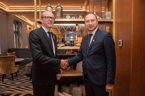 A. Pelšs atvadu vizītē uzņem Moldovas vēstnieku   2019 ...