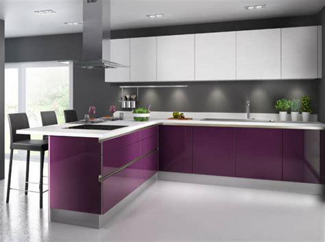 cuisine aubergine ikea 50 cuisines ultra colorées décoration