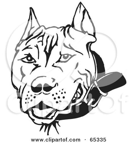 pit clipart black and white pitbull designs pictures