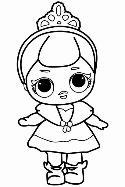 Lol Coloring Doll Surprise Pages Lil Getcoloringpages