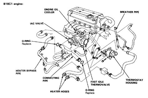 Honda Engine Cooling Diagram by 2003 Ford Taurus Cooling System Diagram Ford Wiring