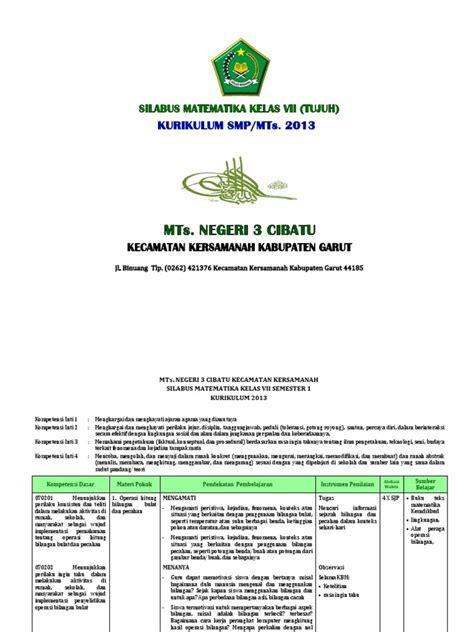 We did not find results for: (4.1) Silabus Matematika SMP_MTs. Kls VII Kurikulum 2013