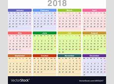 Annual Calendar printable yearly calendar
