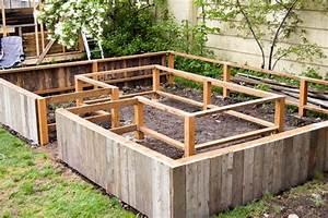 Fabriquer Un Potager Surélevé En Bois : construire potager teciverdi ~ Melissatoandfro.com Idées de Décoration
