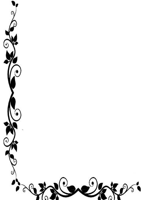 bordes de pagina de flores imagenes para imprimir dibujos para imprimir carteles bordes de