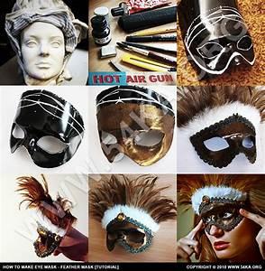 How To Make Eye Mask  U2013 Feather  Tutorial