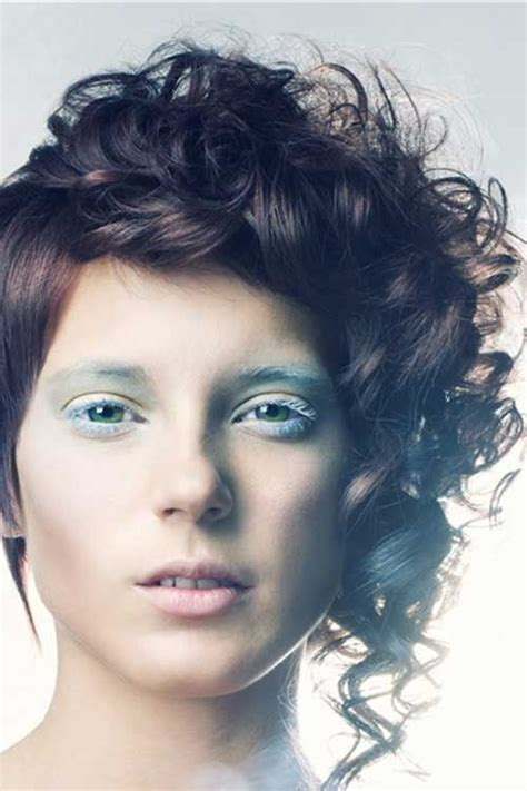 asymmetrical haircuts hair 17 best images about 20 curly asymmetrical pixie 5363