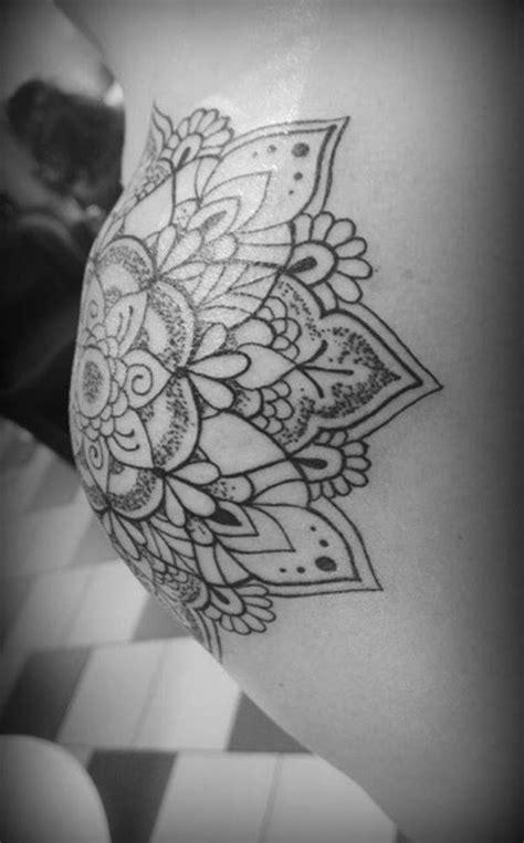 shoulder tattoo mandala tattoos lotus tattoo