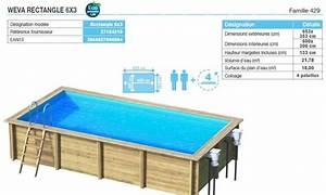 piscine bois proswell by procopi la gamme weva aquarev With piscine hors sol bois rectangulaire 3m 11 piscine hors sol 6m x 4m