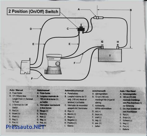 rule 1100 gph automatic bilge wiring diagram collection